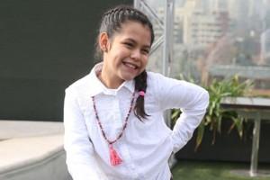 Mira a Isidora Guzmán cuando era más pequeñita