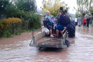 TEMPORAL: Inminente desborde del río Tinguiririca