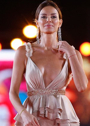 Carolina Parsons cautivó a Cannes