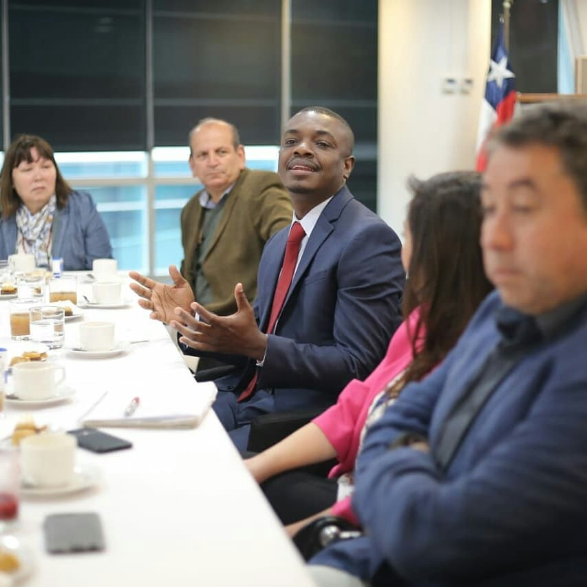 Renaud Alusma en la Selección Nacional de Pymes, un programa de Sercotec:11 emprendedores y emprendedoras que, a través de votación popular, representamos a las Pymes que mueven la economía del país