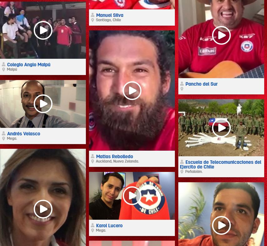 Concurso ''Alienta a La Roja''