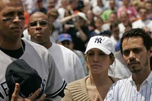Jennifer López sorprendió saludando a Marc Anthony en el Día del Padre